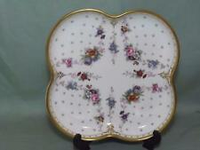 Royal Crown Derby - Royal Antoinette Squared Dish or Tray  (Lot #1)
