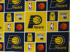 PACERS INDIANA NBA LICENSED COTTON FABRIC FQ