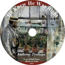 He Knew He Was Right, Anthony Trollope Marriage Trials Audiobook on 2 MP3 CDs