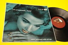 OSCAR PETERSON LP IN A ROMANTIC MOOD ORIG UK '60 LAMINATED COVER TOP JAZZ