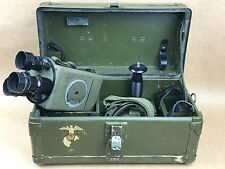 Bell & Howell 16mm C-Mount Green Movie Camera W/ 3 Black Lenses- U.S. Military