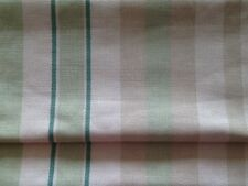 "Laura Ashley Striped Table Runner 54"" x 13"" Linen Fully Lined. New!"