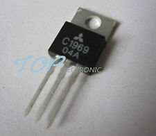 10PCS 2SC1969 C1969 TO-220 RF POWER HF/VHF TRANSISTOR EPITAX