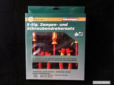 Brüder Mannesmann M10610 Tenazas- und Set de destornilladores 5 piezas,VDE