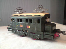Locomotive Motrice Hornby PO verte électrique 1930 type BB train O