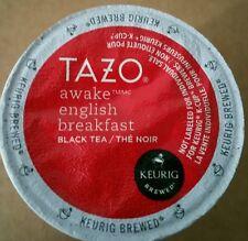 TAZO AWAKE BLACK ENGLISH TEA VERSION 2.0 KEURIG KCUP 96 CT