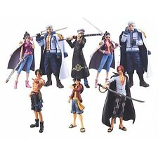 BANDAI Super Modeling Soul One Piece Law`s ambition- 8 pcs Figure Set