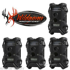 4 Pack Set Wildgame Innnovations Terra 5 Infrared Digital Trail Game Camera 5MP
