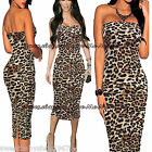 Womens Strapless off the shoulder Club Party Casual Tube Bodycon Long Maxi Dress