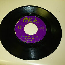 NORTHERN SOUL 45RPM RECORD - DR. FEELGOOD & THE INTERNS - OKEH 7144