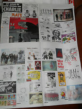 """CASEMATE JANVIER 2015 DRAWINGS COLLECTOR #1 """"SPECIAL CHARLIE HEBDO"""" 32 PAGES NEW"""