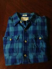Men's Abercrombie & Fitch Long sleeve flannel button up shirt size XL