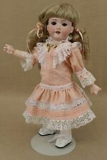 "13"" antique bisque head composition German Armand Marseille DOLLY FACE doll 390n"