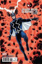 Spider-Man Deadpool #16 Marvel Comics 2017 Mike Allred Variant Cover Black Bolt