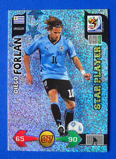 CARD ADRENALYN WORLD CUP SOUTH AFRICA 2010 - FORLAN - URUGUAY - STAR PLAYER