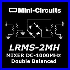 (2x) minicircuits LRMS - 2mh double frequency MIXER 13db if dc-1000mhz