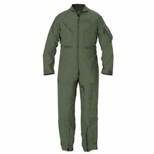NEW USAF USN USMC US ARMY CWU-27/P NOMEX GREEN FLIGHT SUIT 32 R / 32R
