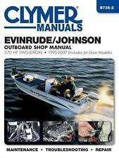 1995 2007 Johnson / Evinrude 2-70 HP Outboard Clymer Repair Service Manual B7352