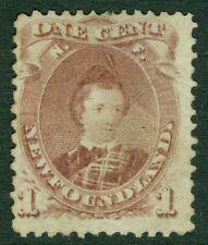 NEWFOUNDLAND : 1871. Scott #32A Mint No Gum. Catalog $115.00.