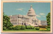 Rare 1930 Postcard US Capitol Buckingham Studios Washington D.C. Unposted