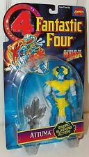 Fantastic Four FF4 Marvel Attuma Action Figure w/Sword Slashing - Toy Biz 1996