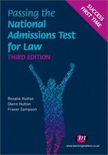 Passing the National Admissions Test for Law (LNAT) (Student Guides to Universi.