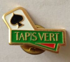 Tapis Vert Ace Of Spade Poker Card Pin Badge Rare Vintage Advertising (F10)