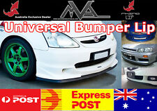 HONDA RHINO LIP FRONT BUMPER SPOILER CHIN SPLITTER VALANCE BODY KIT AIR WING