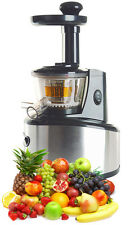 UROM PROFESSIONAL SLOW FRUIT VEGETABLE JUICER EXTRACTOR PROCESSOR VEG HEALTHY