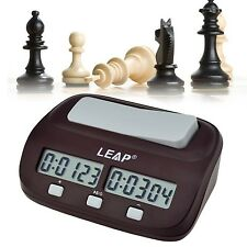inkint Professional Digital Chess Clock Count Down Timer with Alarm Electroni...