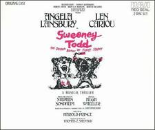 Sweeny Todd  Original Cast Recording  RCA 2 Disc Pressing  Angela Lansbury