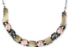 KENNETH COLE New York 'Shell Brilliance' Geometric Crystal Collar Necklace
