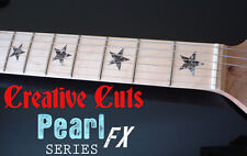 Stars BLACK PEARL Fret Marker Star Stickers for Fender Telecaster or ANY GUITAR