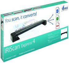 IRIScan Express 4 Mobile Scanner & OCR Software for Windows and Mac NEW!