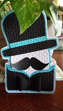 25 Our Little Man Mustache Baby Shower Invitations 4 x 6""