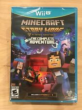 Minecraft: Story Mode - The Complete Adventure NINTENDO WII U NEW FACTORY SEALED