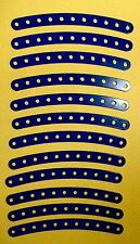 MECCANO ERECTOR Curved Strips Dark Blue No. 89 - 5.5 Inch - Old Stock Unused