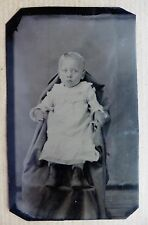 FERROTYPE PHOTO ENFANT bébé  O426