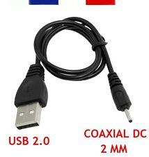 CÂBLE DE CHARGE - DATA USB 2.0 VERS COAXIAL 2 MM DC 5V POUR NOKIA...(50CM)