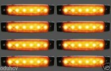 8 pz 24V 6 LED Indicatore Laterale Arancio Color ambra Luci per camion Mercedes