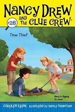 Time Thief (Nancy Drew and the Clue Crew)-ExLibrary
