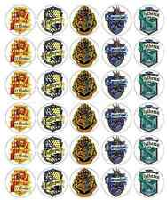 Harry Potter Crest Cupcake Toppers Wafer Paper BUY 2 GET 3RD FREE!