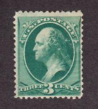 US 184 3c Washington Mint Fine OG H SCV $90