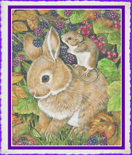 BERRY BEST BUDDIES~COUNTED CROSS STITCH PATTERN ONLY