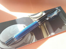 PLUMA ESTILOGRÁFICA PELIKAN M805  BLUE BLACK  -M-  FOUNTAIN PEN