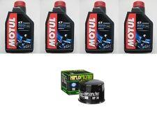 TAGLIANDO FILTRO HF138+4LT 3000 10W40 MOTUL SUZUKI GSX-R1000 L2,L3,L4,L5,L6 2012