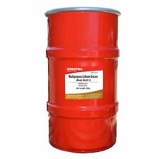 RED MULTIPURPOSE LITHIUM GREASE, NLGI 2 - 120LB. (16 GAL.) KEG