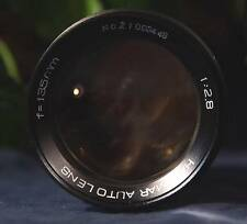 Nice HANIMAR AUTO Prime Manual Focus 135 mm f/2.8 Telephot Lens M42 Screw Mount