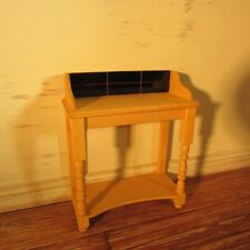 DOLLS HOUSE MINIATURE BEDROOM  PINE WASHSTAND
