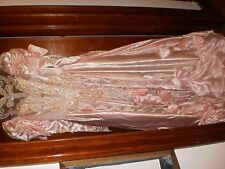 Fancy Wedding Gown  (Pink for Local pIck up)
